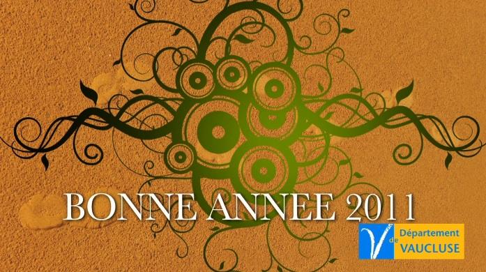 Voeux 2011 du Conseil Général du Vaucluse