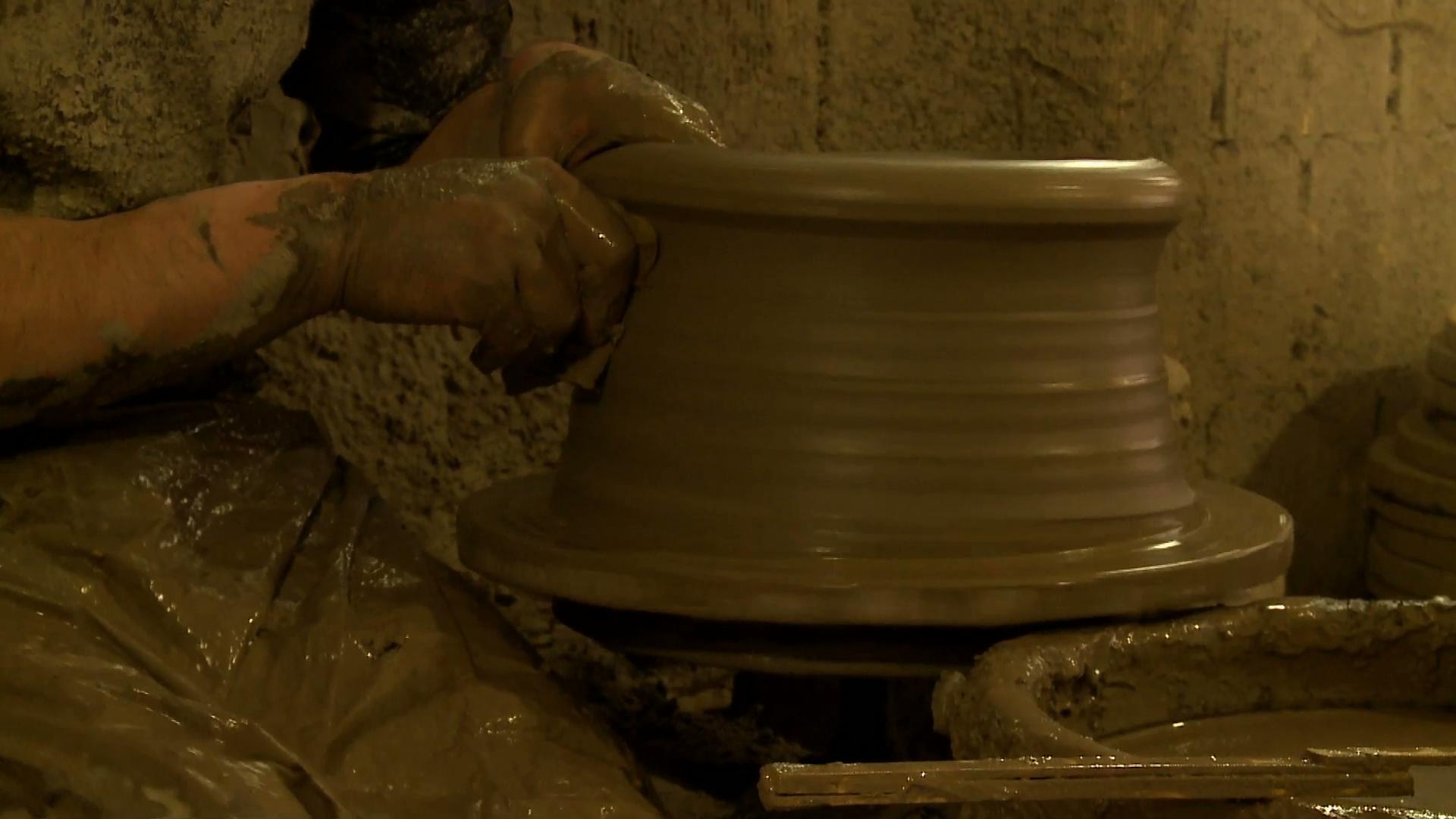 Le miracle crétois : séquence poterie
